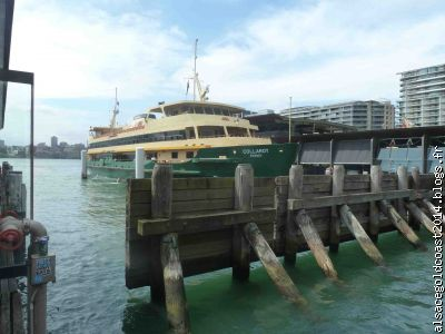 Le ferry pour Manly Island